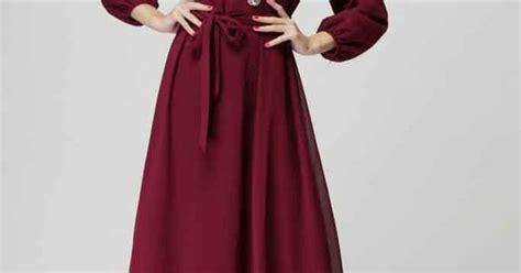 Dress Baju Wanita Muslim Longdress Maxidress New Cataleya rushed new fashion muslim dresses islamic garment autumn ethnic costume