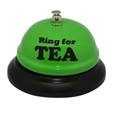 Kitchen Tea Gift Ideas For Guests desk bell ring for a cuppa find me a gift