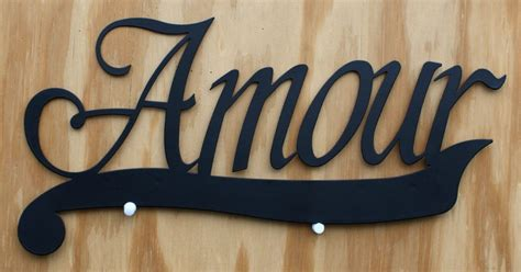 Amour Tin Metal Sign Lover Home Kitchen Living Room