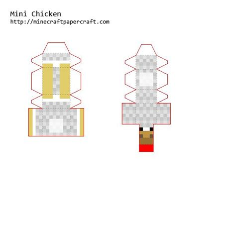 Papercraft Chicken - 35 best minecraft images on minecraft
