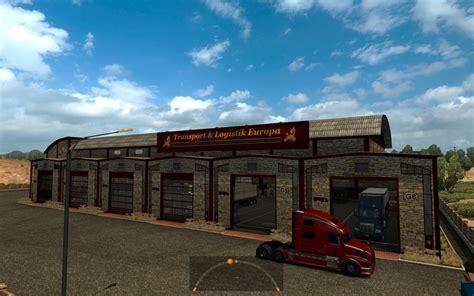 garage t l europa american truck simulator mods ats mods