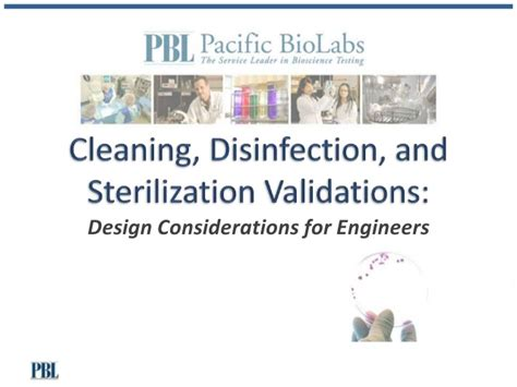 design for the environment disinfectants cleaning disinfection and sterilization validations of