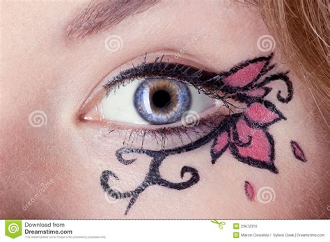 creative in make up but what we see in these hot girls wallpaper creative make up stock photo image 23672310