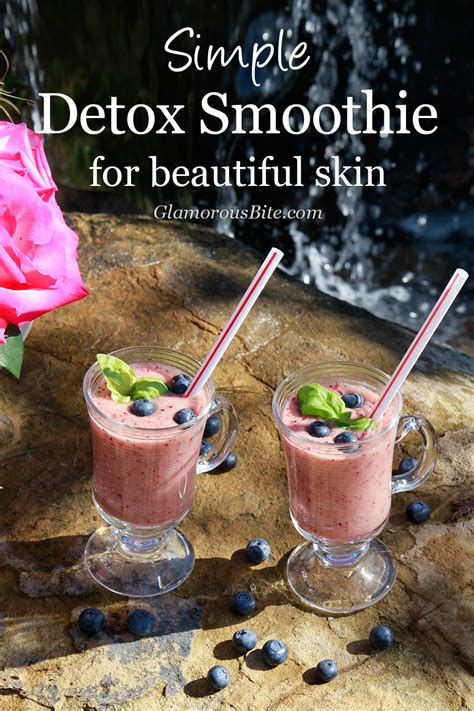 Basic Detox Smoothie Recipe by Simple Detox Smoothie Recipe For Beautiful Skin