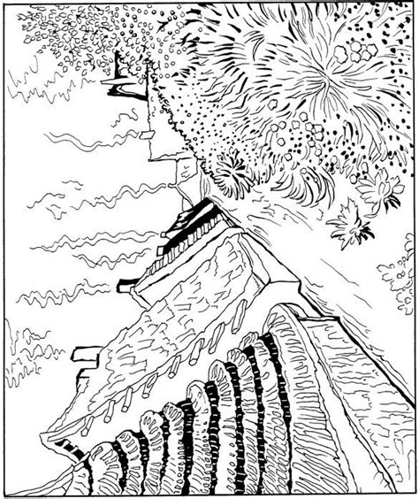 coloring book vincent van 3791343319 coloring page vincent van gogh saint naries 1888 van gogh coloring vincent