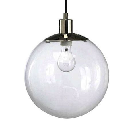 Glass Orb Pendant Light 15 Ideas Of Clear Glass Pendant Lights
