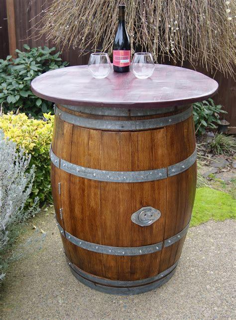 wine barrel storage reclaimed wine barrel with storage 700