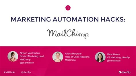 marketing automation hacks mailchimp
