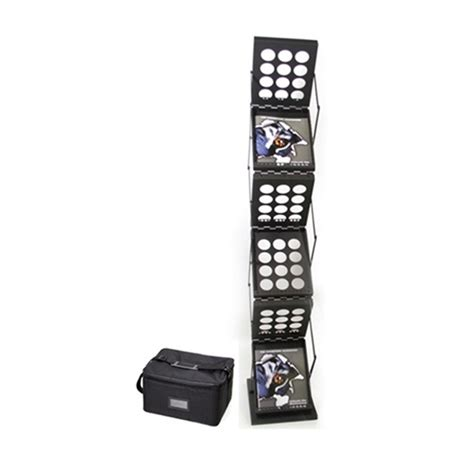 Trade Show Literature Rack by Black Victory Literature Rack For Trade Shows Exhibits