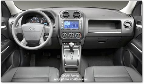 jeep liberty silver inside jeep patriot review and photos