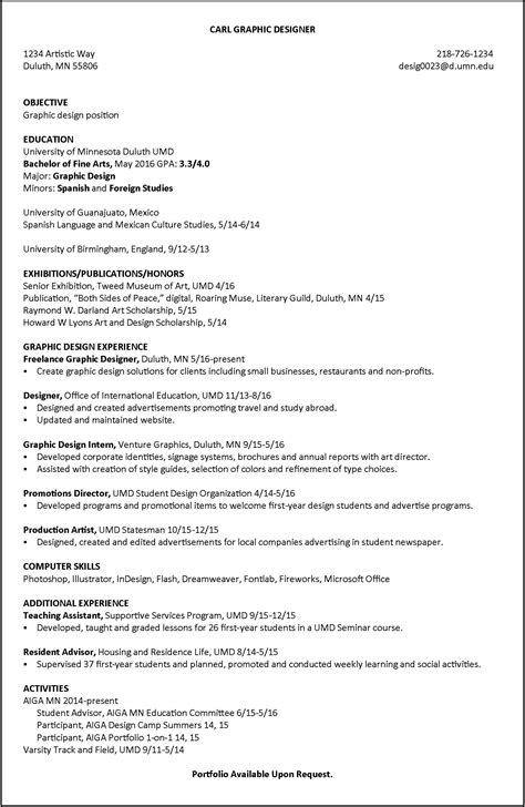 graphic designer experience resume graphic designer experience resume resume for study