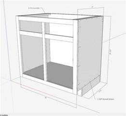 How To Build A Corner Kitchen Cabinet Kitchen Cabinets The Engineer S Way Finewoodworking