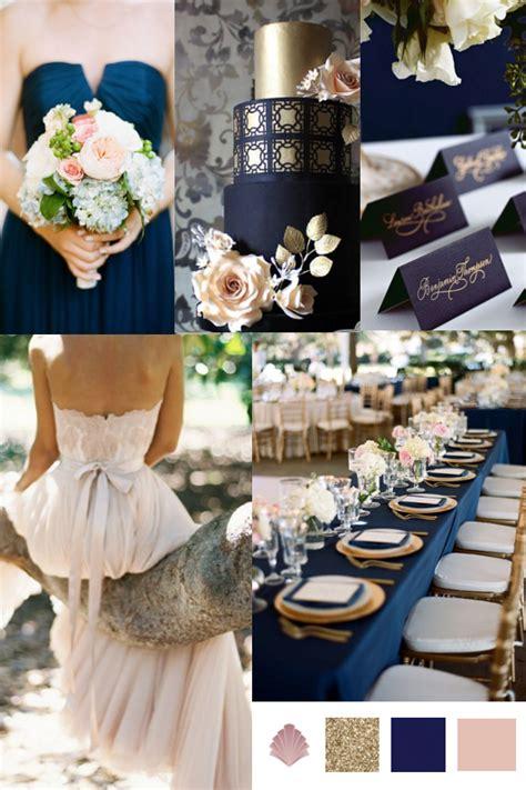 wedding colour themes uk wedding theme navy gold antique blush vintage