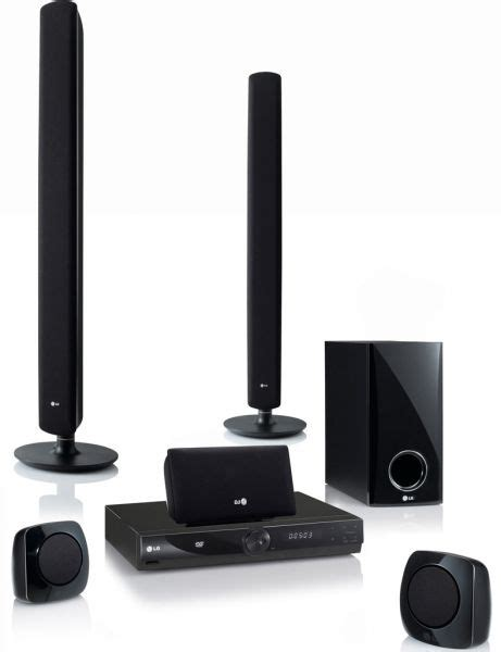 Dvd Home Theater System Lg Dh3120s lg 5 1channel 330watts hd up scalling dvd home theater system model ht306pd price