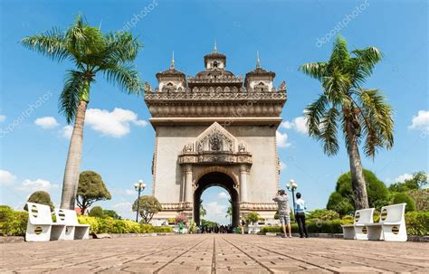 Sanjaya Literally Means Victory by Patuxai Literally Meaning Victory Gate Or Gate Of Triumph