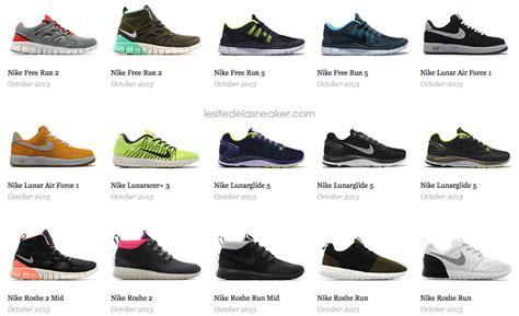 nike releases septembreoctobre  le site de la sneaker