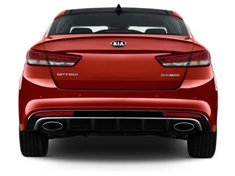 Kia Optima Rear View Image 2016 Kia Optima 4 Door Sedan Sx Turbo Rear Exterior