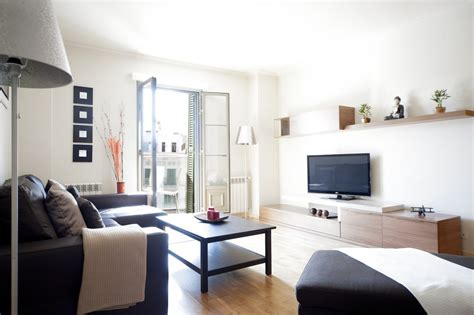 living room city center barcelona exclusive ramblas apartment b421 you stylish