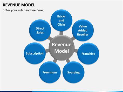 Revenue Model PowerPoint Template   SketchBubble