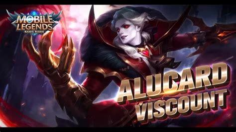 wallpaper alucard viscount mobile legends alucard starlight member skin viscount