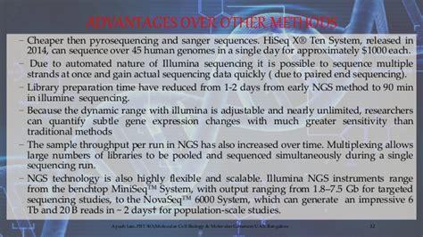 illumina pyrosequencing illumina infinium sequencing