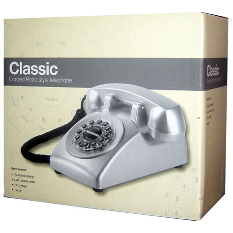 Magicboxs Touch 100 Dect Phone Has The Magical Chocolatey Touch by Magicbox Classic Telephone International Ltd