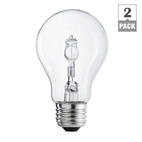 100 watt light bulb cost per hour ecosmart 100 watt equivalent incandescent a19 clear light