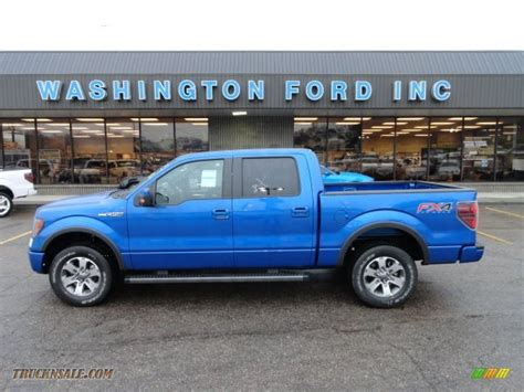 2012 ford f150 supercrew 2012 ford f150 fx4 supercrew 4x4 in blue metallic