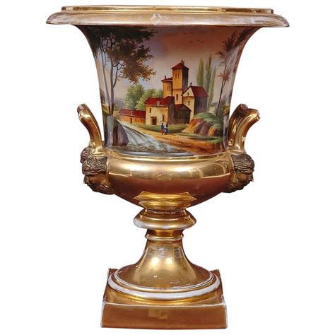 Large Urns And Vases by Large Porcelain Urn With Landscape