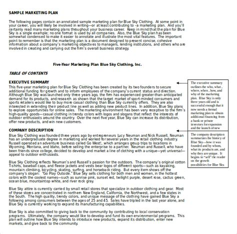 marketing plans templates 18 marketing plan templates free word pdf excel ppt