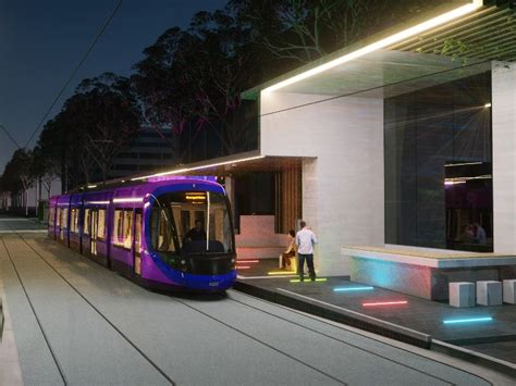 Canberra Light Rail Contract Signed News News Railpage Canberra Lights