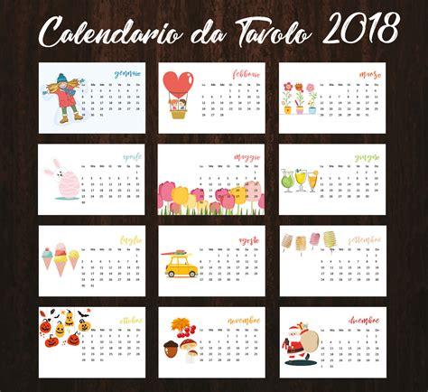 calendario ufficio calendario 2018 calendario da tavolo 2018 calendario