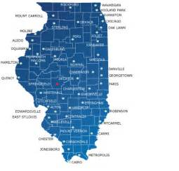 Map Of Illinois Cities And Towns by Map Of Illinois Cities And Towns