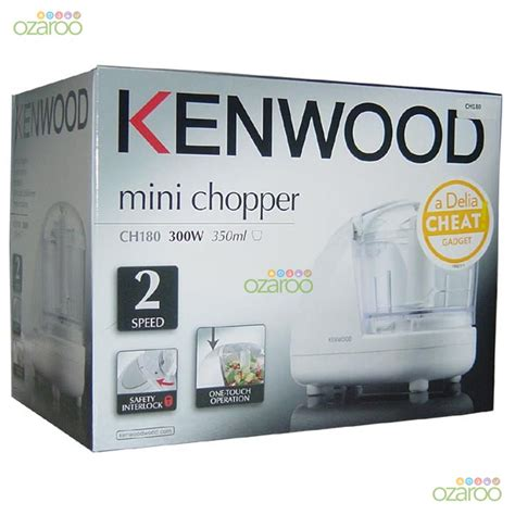 Kenwood Ch 180a Mini Chopper kenwood mini electric 2 speed food chopper blender