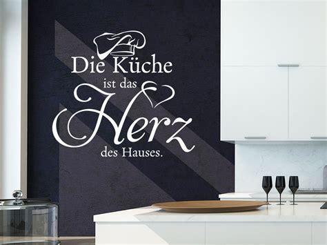 die küche ist das herz des hauses wandtattoo die k 252 che ist das herz des hauses klebeheld 174 de