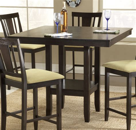 counter height table sets with 8 chairs counter height dinette sets homesfeed