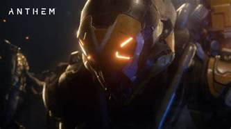 anthem gameplay reveal shows off customisable characters