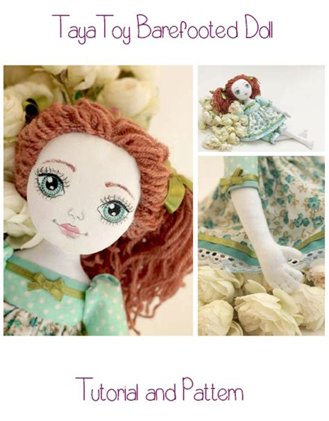 doll tutorials doll sewing e pattern tutorial barefooted cloth doll