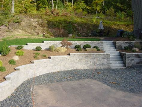 Interlocking Wall System Birch Mountain Earthworks