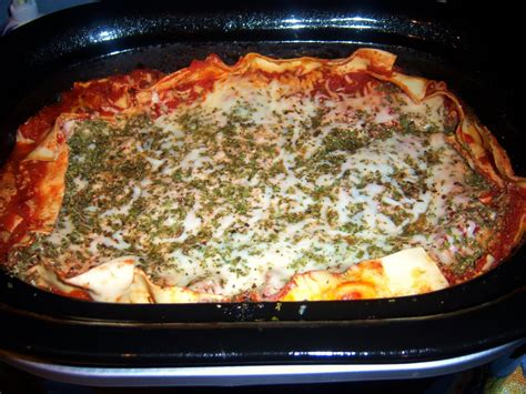 crock pot lasagna easy recipe what s cookin italian