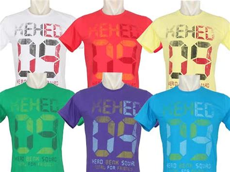 Kaos Top Print Be The Exception kaos the ty shop