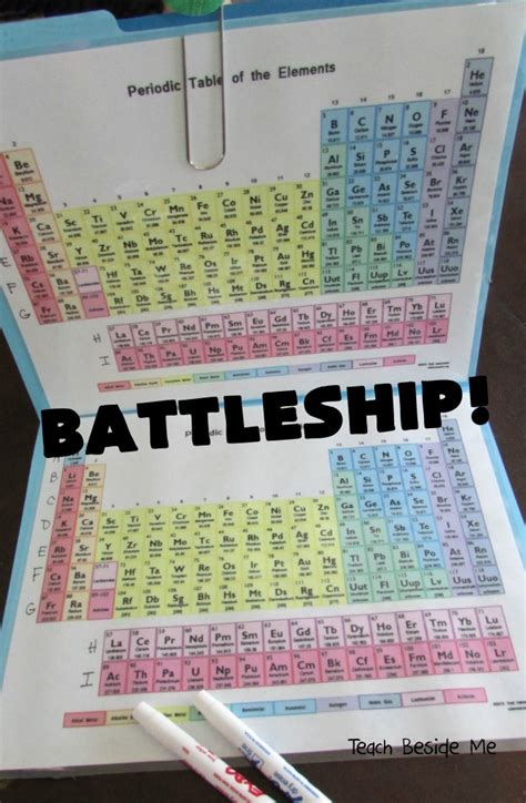 printable periodic table game periodic table battleship teach beside me