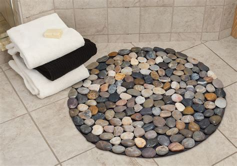 Rock Bath Mat by 7 Bath Mat Ideas To Make Your Bathroom Feel More Like A Spa