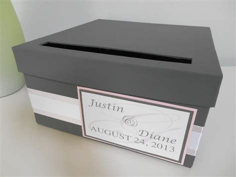 card box modern wedding card box bridal shower card box reception card