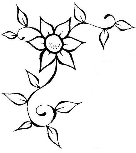imagenes flores simples jardim colorido da tia suh flores para colorir