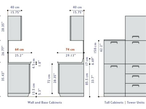 Kitchen Cabinet Depth by Standard Kitchen Cabinet Depth Australia Savae Org