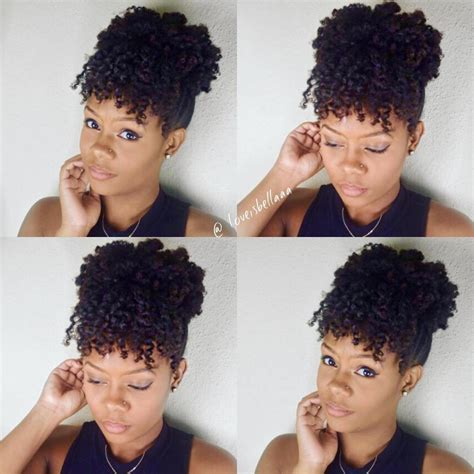 Everyday Hairstyles For Afro Hair | 3 quick everyday natural hair styles natural hair care