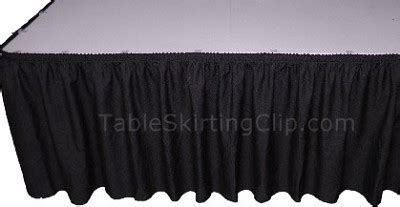 21 foot executive economy table skirts wholesale linen