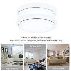 18w 4 modes color led ceiling light flush mount
