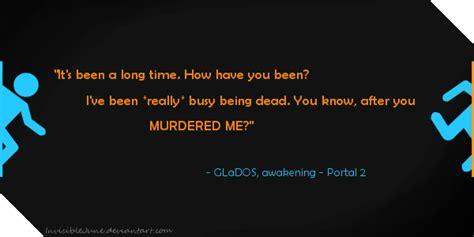glados quotes portal 1 glados quotes quotesgram